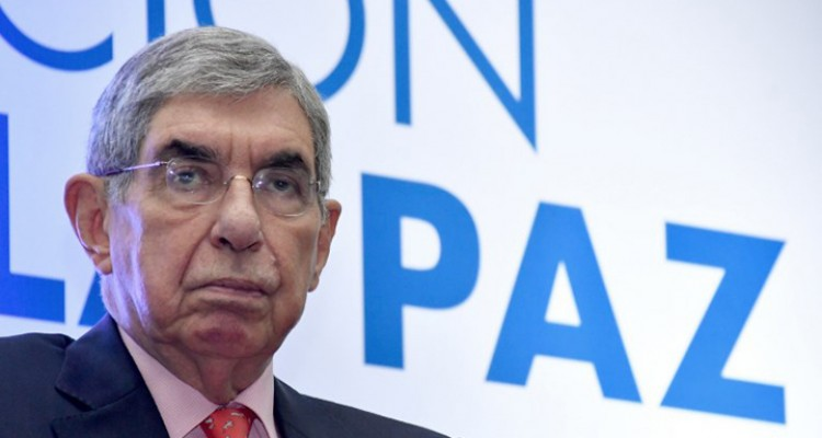 "(FILES) In this file photo taken on August 11, 2017 former Costa Rican president (1986-1990 and 2006-2010) and Nobel Peace Prize-winner Oscar Arias Sanchez, attends the closing ceremony of the Commemoration for the 30 years of the Central American Peace Accord, ""Esquipulas II"", in San Jose. - A former Miss Costa Rica filed a second criminal complaint on charges of sexual assault against Arias, informed the press on February 8, 2019. (Photo by Ezequiel Becerra / AFP)"