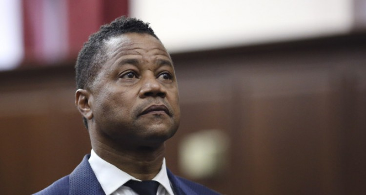 Cuba Gooding Jr. appears in criminal court Thursday, June 13, 2019, New York. Gooding Jr. turned himself in to police Thursday and was charged with forcible touching after a woman accused the actor of groping her at a New York City night spot. (Alex Tabak/New York Daily News, via AP, Pool)