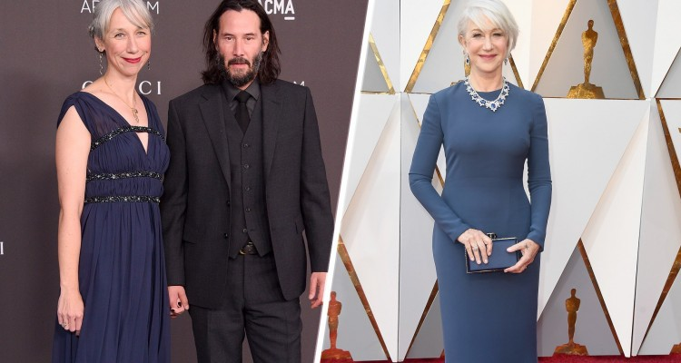 Helen Mirren Keanu Reeves GQ